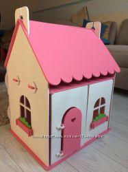 Яркий кукольный домик 59см-34. 4см-42. 7см