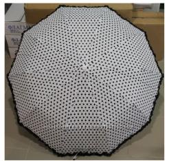 Женский яркий зонт полуавтомат