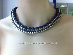 РАС-про-да-жа Элитная бижутерия Украшение на шею с кожаным вплетением