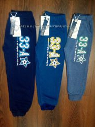 Спортивные штаны с начесом для мальчиков , Grace, 98-128