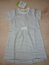 Новое полосатенькое платье с люрексом 86-92р Topolino Германия