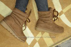 Женские ботинки зима 36, 37 размеры