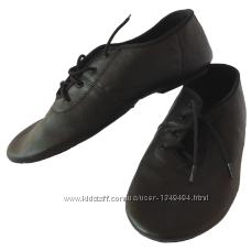 Джазовки черные кожаные   -32, 40, 43рр остатки