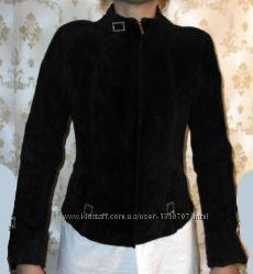 Куртка WOGER натуральная замша и кожа