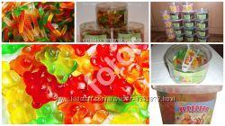 Желейные конфеты Мишки и Червячки