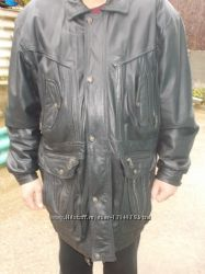 Куртка кожаная 56-58 размер
