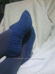 Носки-следки вязанные