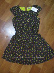 Платье летнее на девочек 140 и 146