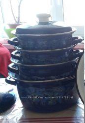 Продам набор эмалированных кастрюль Керчь