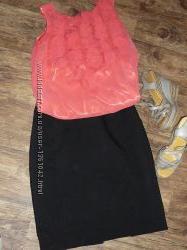 Классическая юбка-карандаш H&M