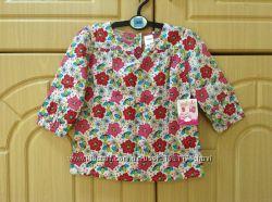 Новая блузка Мах на 6-12 месяцев большемерит