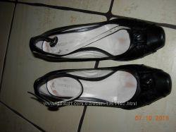 Кожаные туфли 37р. и 38р.