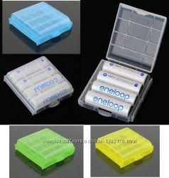 Коробка, Box для батареек, аккумуляторов AA или AAA