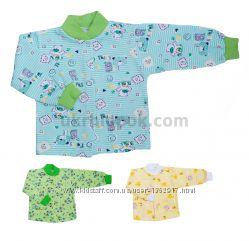Кофта на байке качественная для младенцев от 1 до 9 месяцев