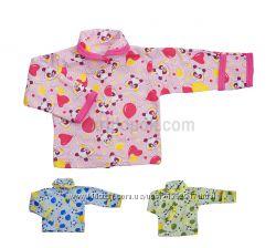Теплая кофта для мальчика или девочки с закрытыми ручками от 1 до 9 месяцев