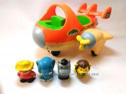 Самолет Keenway Сафари, интерактивная развивающая игрушка кинвей