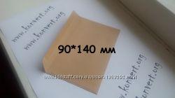 Почтовые крафтовые конверты c6, c5, c4, e65 DL, 90x140 крафт