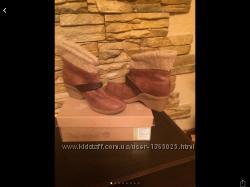 Крутые кожаные ботинки Timberland оригинал 8, 5 39 размер