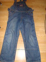 джинсовый комбинезон на флисе