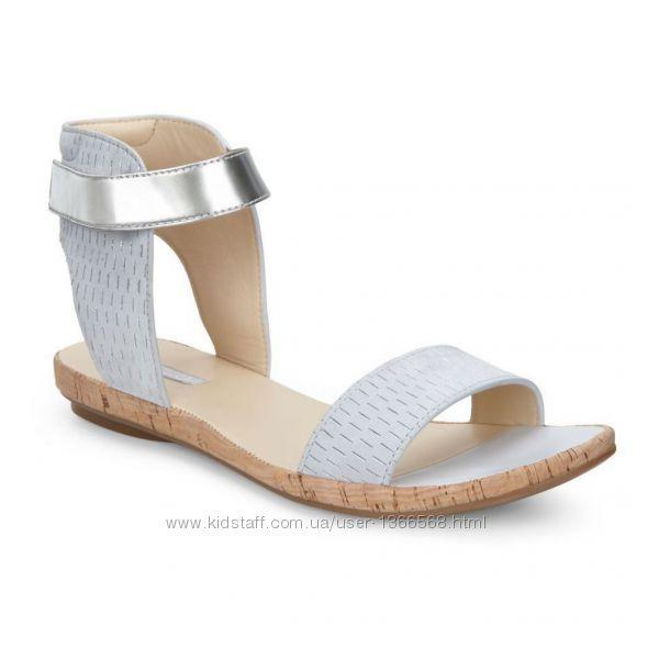Шкіряні сандалі Ecco Silver-Tone