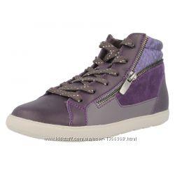 Шкіряні черевики Clarks Zita Snake