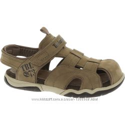 Сандалі TIMBERLAND Taupe Leather Velcro Sandals