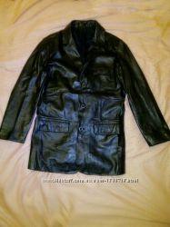 кожаный пиджак 46-48рамера