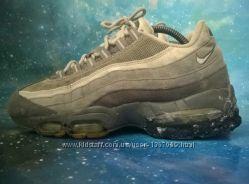 Кеды Nike Air Max 95  кроссовки, замша, текстиль, 42 размер, Найк