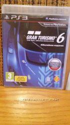 Игра Gran Turismo 6 на Sony PlayStation 3 PS 3