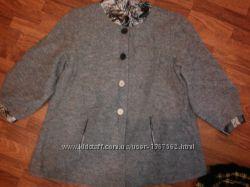 Пальто из валяной шерсти Уценено