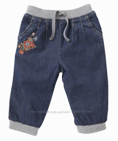 Новые новые джинсы на трикотажной подкладке mothercare оригинал
