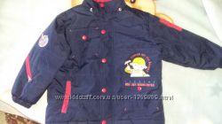 Куртка демесезонная для мальчика р. 110