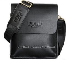 Сумка мужская Polo черная