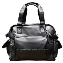 Стильная мужская сумка кожа PU