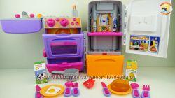 Игровой набор Кухня -Холодильник-чемодан 9911