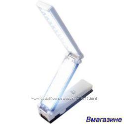 Настольная аккумуляторная лампа трансформер 57 LED, 1600 мАч