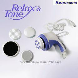 Массажер Relax and Tone. Антицеллюлит, тонус мышц 4в1