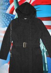 Брендовое демисезонное пальто Naf-Naf