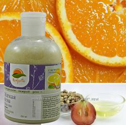 Натуральный Гель для душа Мягкая пена с экстрактом апельсина