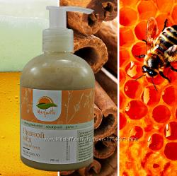 Натуральное Жидкое мыло Пивной мёд