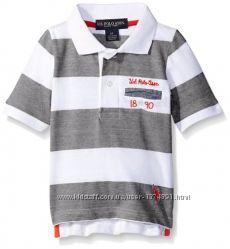 Стильная и красивая футболка U. S. Polo Assn. 5-6 лет.