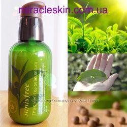 Бестселлер 1 Увлажняющая  сыворотка Innisfree The green tea seed serum.