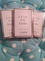 Пробнички ароматов Lancome, сладенькие и вкусные