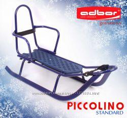 Санки Piccolino со спинкой от торговой марки Adbor