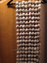 шарф шаль меховая