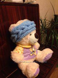 Вязаные повязки на голову для детей