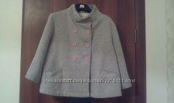 Красивое стильное пальто-кардиган, размер 38