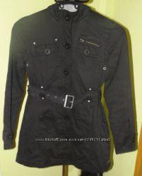 Куртка черная демисезон осень весна