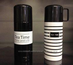 Термос TEA TIME. Тонкие полоски