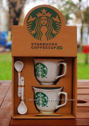 Подарочный набор чашек Starbucks. 2011. Уценка